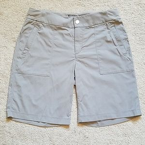 Athleta Bermuda shorts, grey